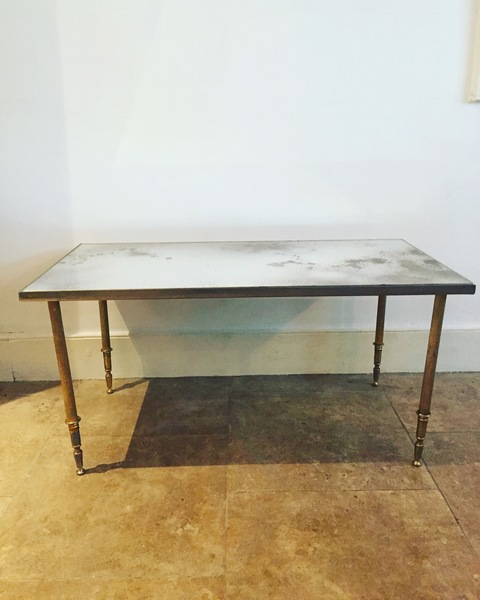 Small Mid Century French Side Table