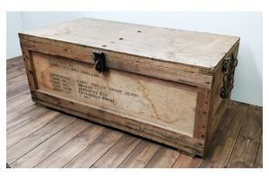 Thumb rolls royce wooden delivery crate chest 0