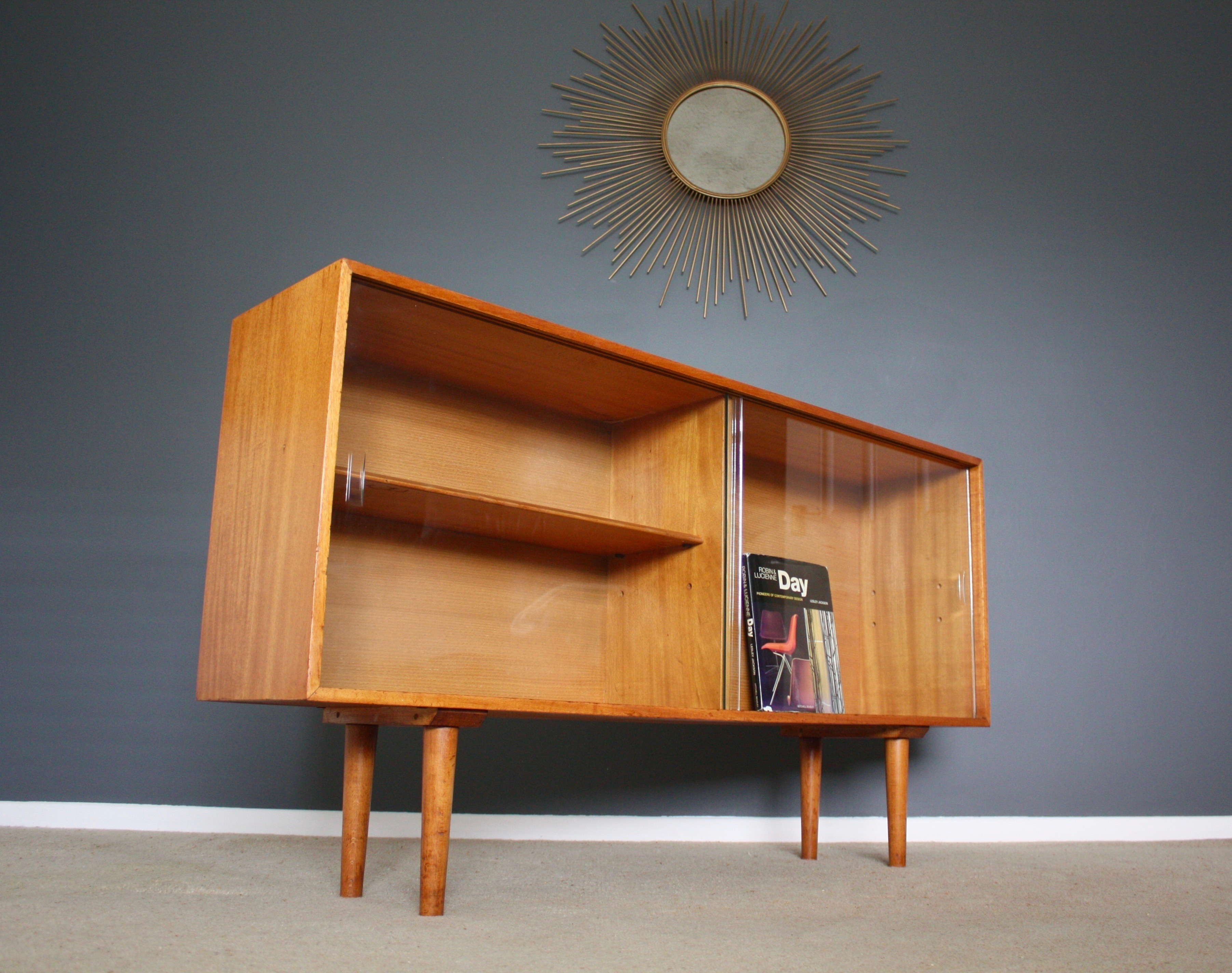 Robin Day Bookcase Sideboard Hilleplan Unit D Mid Century Modern Retro Vintage 50s