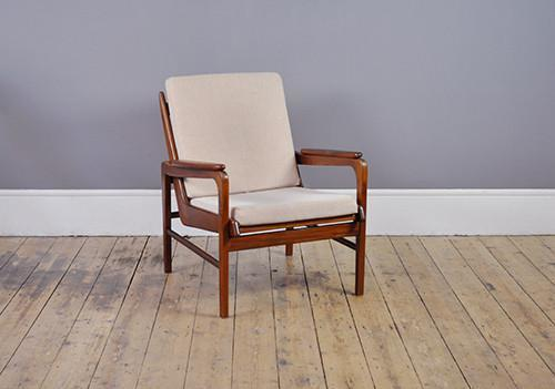 Danish Low Back Armchair photo 1