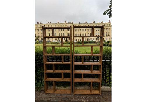 Bespoke Pigeon Holes Bookcases Storage Cool Industrial (Or Rustic) Furniture Brighton Uk