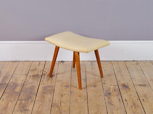 Mid Century Dutch Footstool photo 1