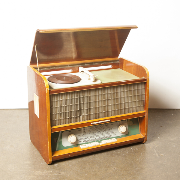 Olympia Tube Radio With Record Player
