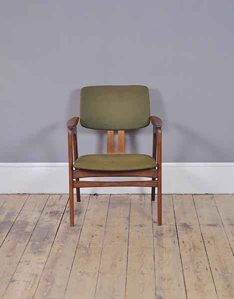 Cees Braakman Green Occasional Chair