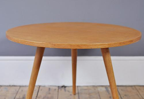 Round Oak Coffee Table