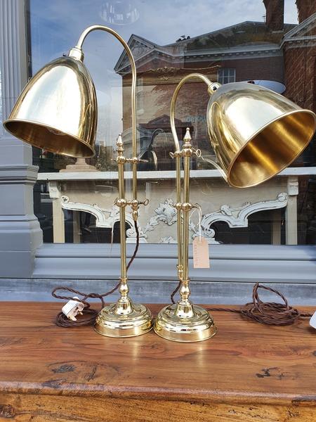 Bespoke Brass Table Lamps