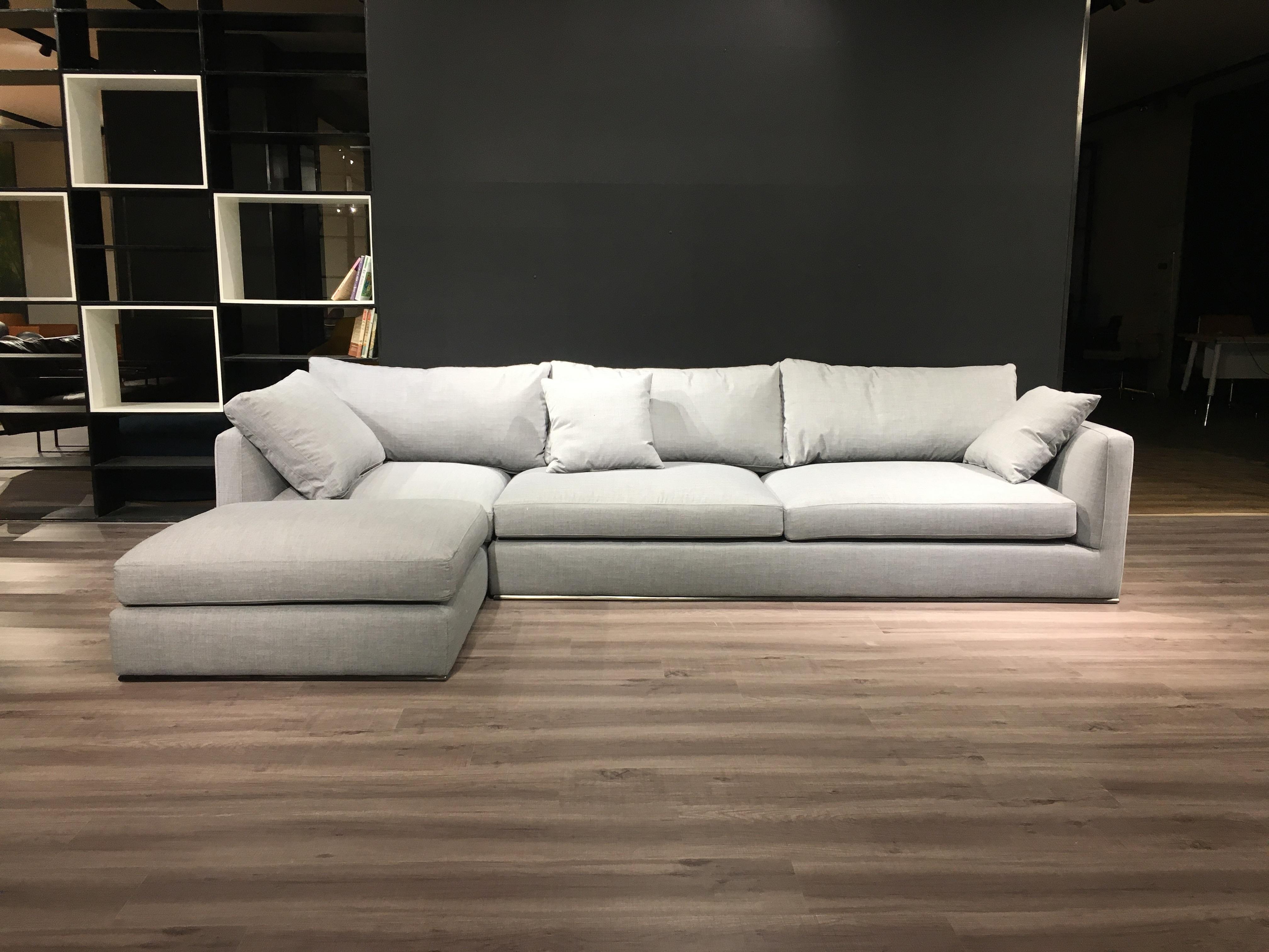 Modular Corner Sofa Dark Grey