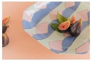 Thumb vintage contemporary 1980s ceramic studio pottery octagonal serving bowl platter 9a7164a6 ce0e 47d7 b19d 892ff45c781f 0