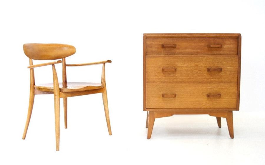Vintage 1960s G Plan 'E Gomme' Drawers/Bureau