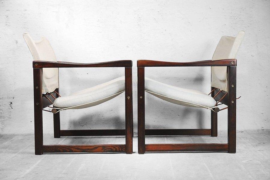 Safari Canvas Chairs By Karin Mobring