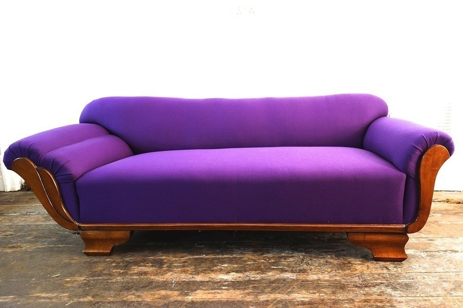 Deep Purple Daybed 1930s