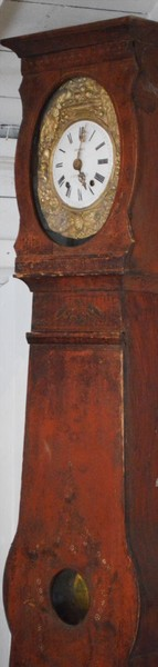 19th Century Morbier Longcase Clock