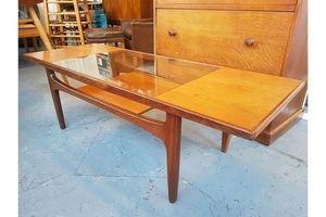 Thumb 1960 s g plan fresco teak glass coffee table vintage retro mid century 0
