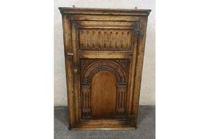 Thumb titchmarsh goodwin carved oak corner cupboard 0