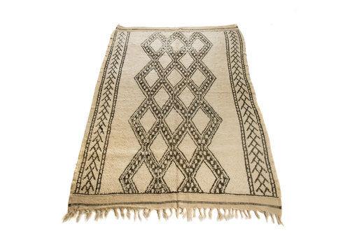 Antique Beni Ourain Moroccan Rug