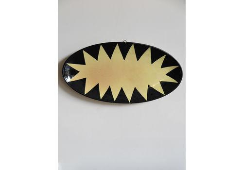 Italian Ceramic Centerpiece Or Wall Plate Designed By Nedo Merendi, 1992