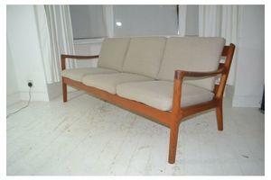 Thumb stunning vintage danish ole wanscher france son senator teak sofa settee 0