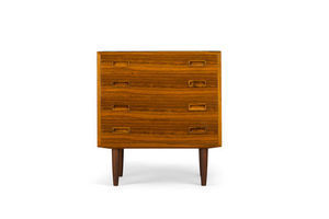 Thumb rosewood chest of drawers by carlo jensen for hundevad co 1960s 0