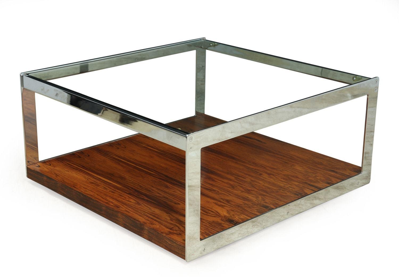 Picture of: Mid Century Large Square Coffee Table By Merrow Associates Merrow Associates Vinterior