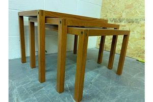 Thumb mid century danish nesting tables from trioh 1960s 0