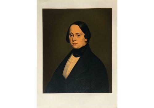 Millet Jean François (After (1814 1875)   Lithography   Presumed Portrait Of M Doré De Cherbourg