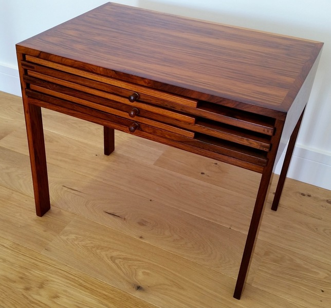 Illum Wikkelso Rosewood Nest Of Tables