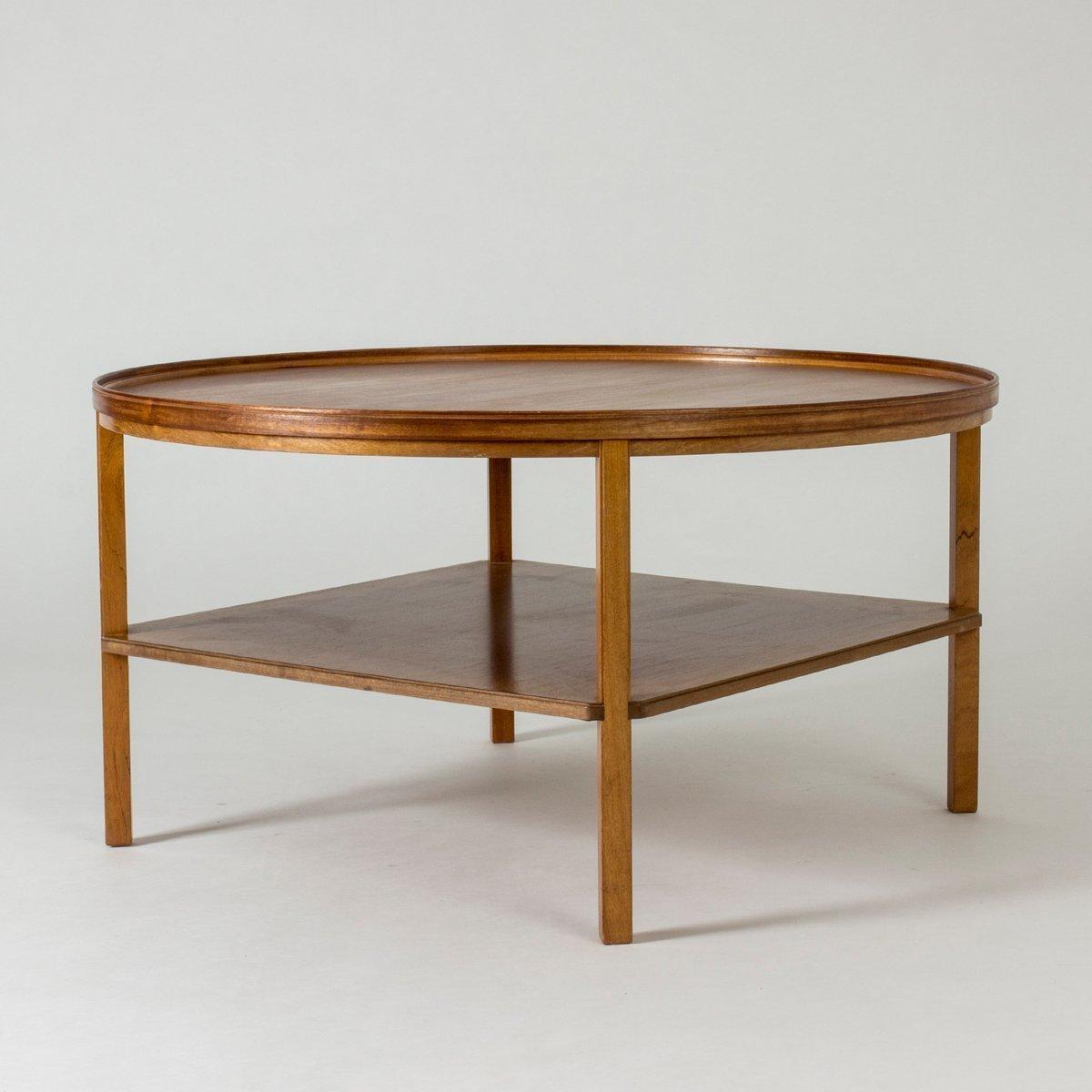 Mahogany Coffee Table By Kaare Klint For Rud Rasmussen 1930s Rud Rasmussen Vinterior