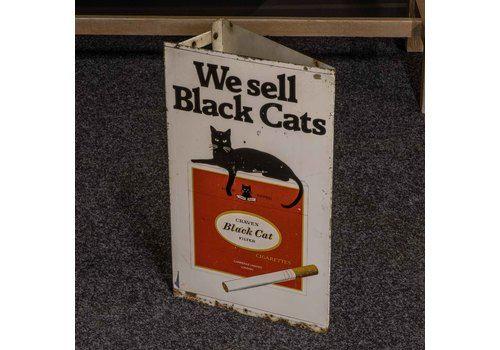 Vintage Black Cat Cigarettes Sign