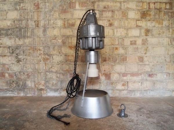Industrial Aluminium Pendant Light