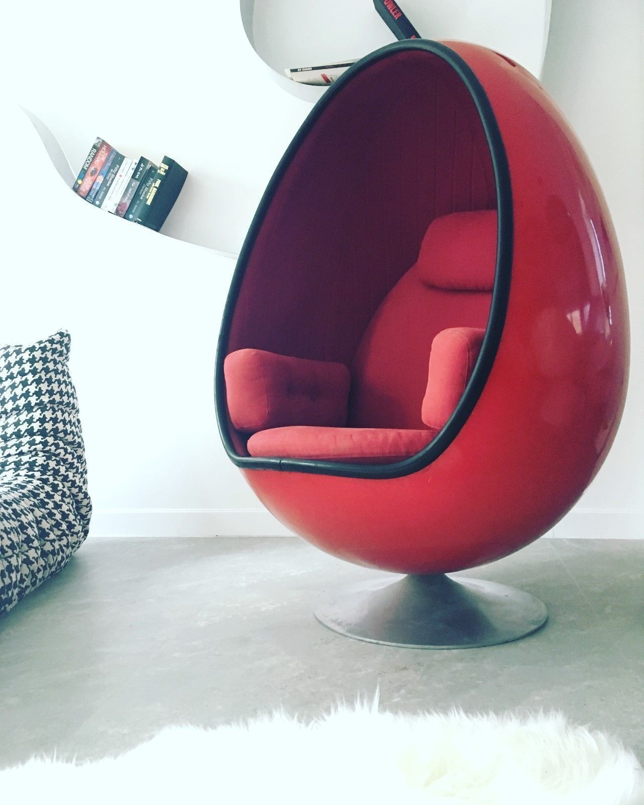 Incredible Vintage Ovalia Egg Chair By Thor Larsen For Torlan Staffanstorp 1968 Home Interior And Landscaping Synyenasavecom