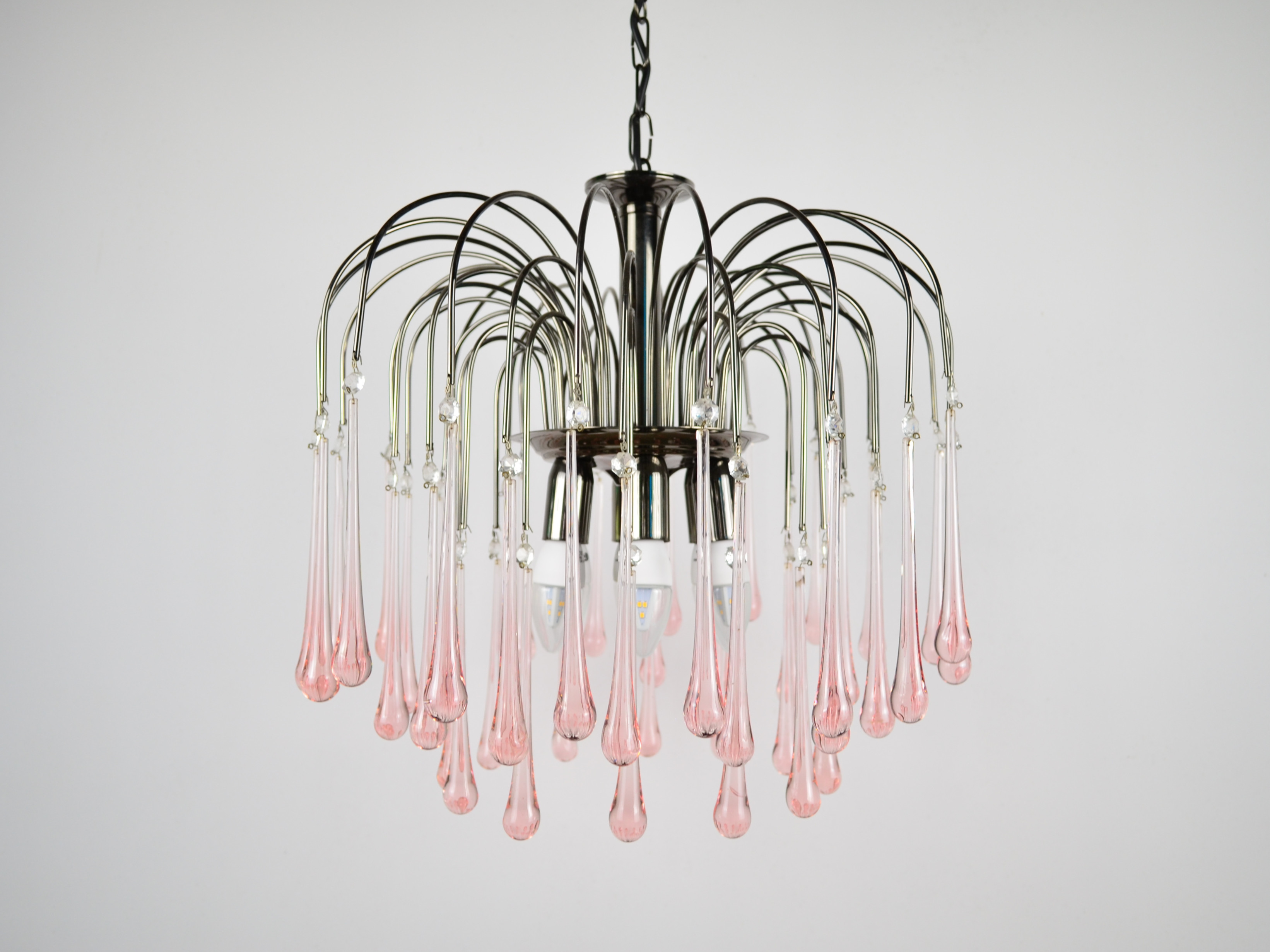 Murano Glass Chandelier by Paolo Venini
