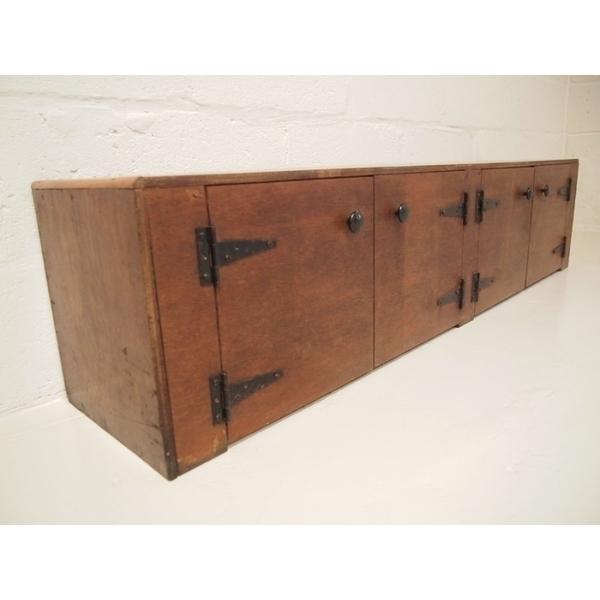 Vintage Wooden Locker photo 1