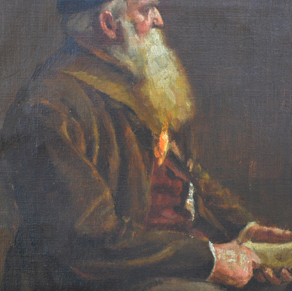 After Stanhope Forbes. Late 19th C Portrait Of A Gamekeeper