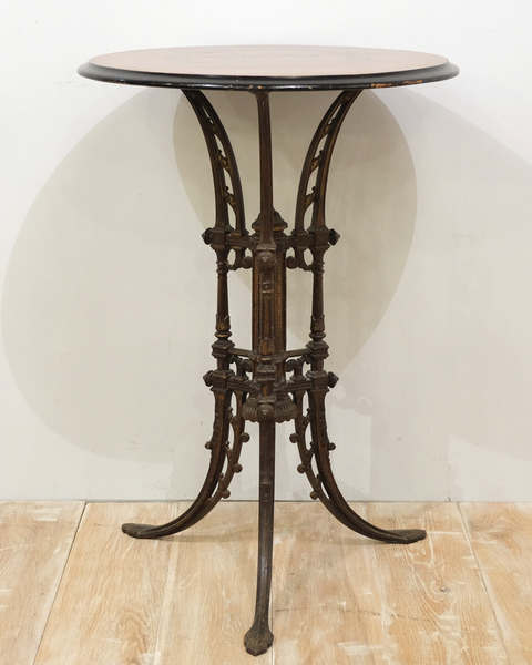 Iron Marquestry Wine Table