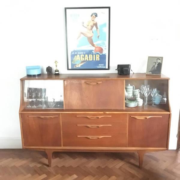 Retro Gplan Style Drinks Cabinet /Sideboard