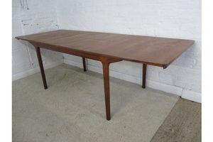 Thumb mid 20th century mc intosh teak rectangular double leaf extending dining table 0