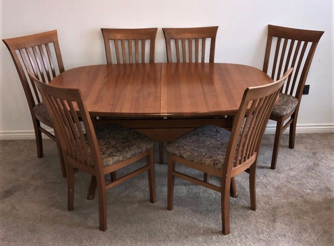 Stylish Danish Mid Century Teak Dining Table And 6 Chairs By Gangso Denmark Gangso Denmark Vinterior