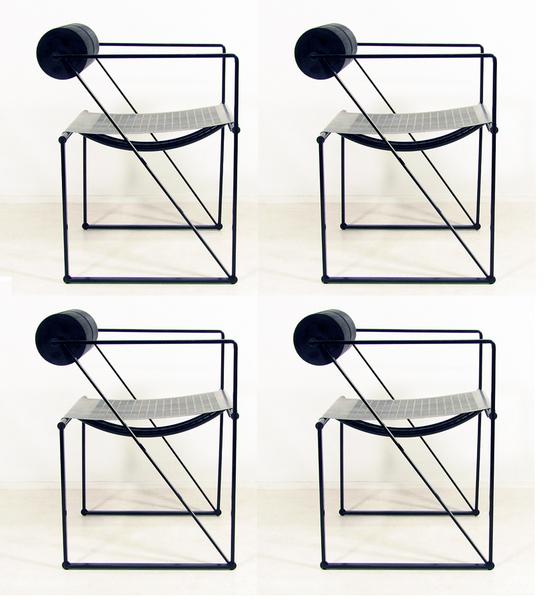 "Four Italian ""Seconda"" Chairs By Mario Botta"