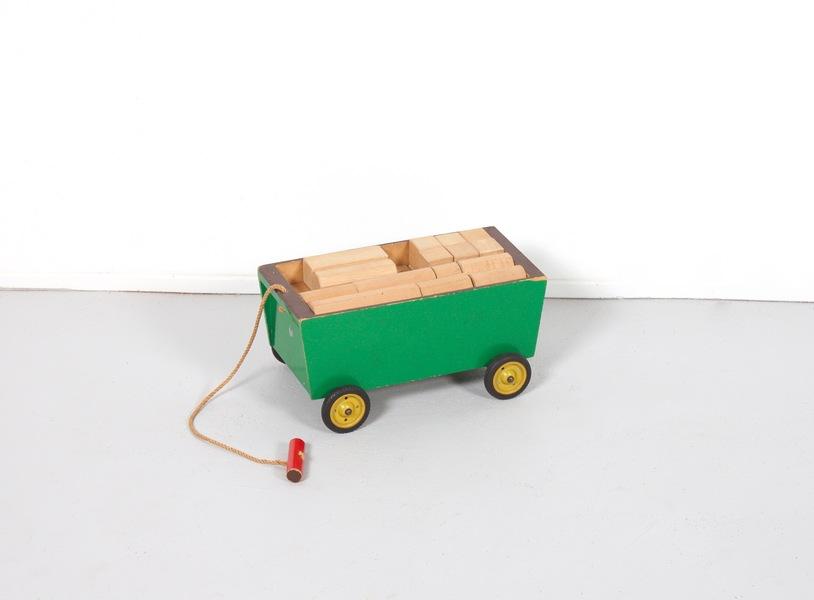 Ko Verzuu Toy Cart For Ado Holland, 1949