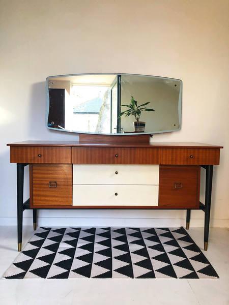 Mid Century Retro Vintage Dressing Table