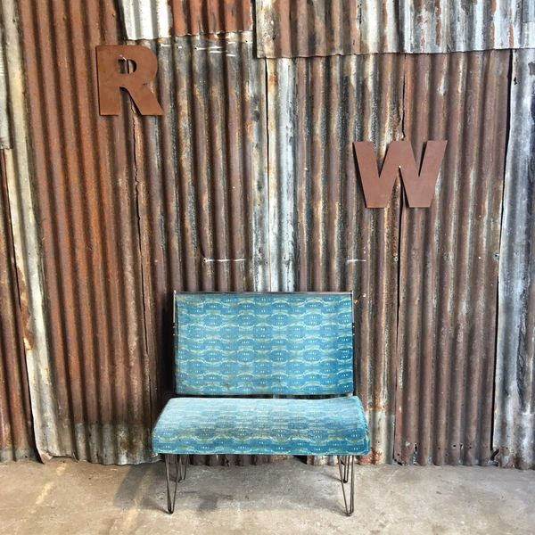 Retro Bus Bench Seating Man Cave Diner Seats