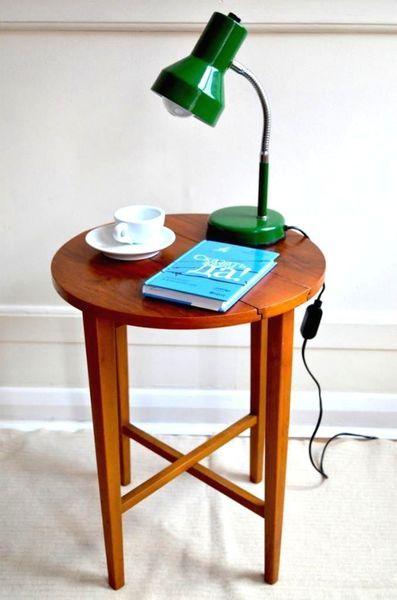 Vintage Folding Side Tables. Danish Style. Very Stylish. Modern/Mid Century.