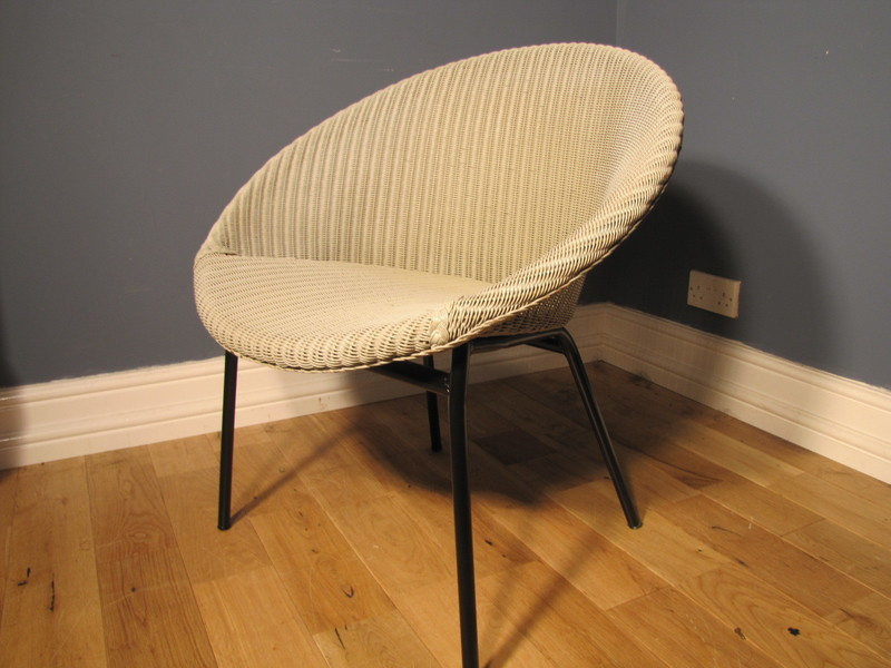 Lloyd Loom Lusty Satellite Chair 1950s