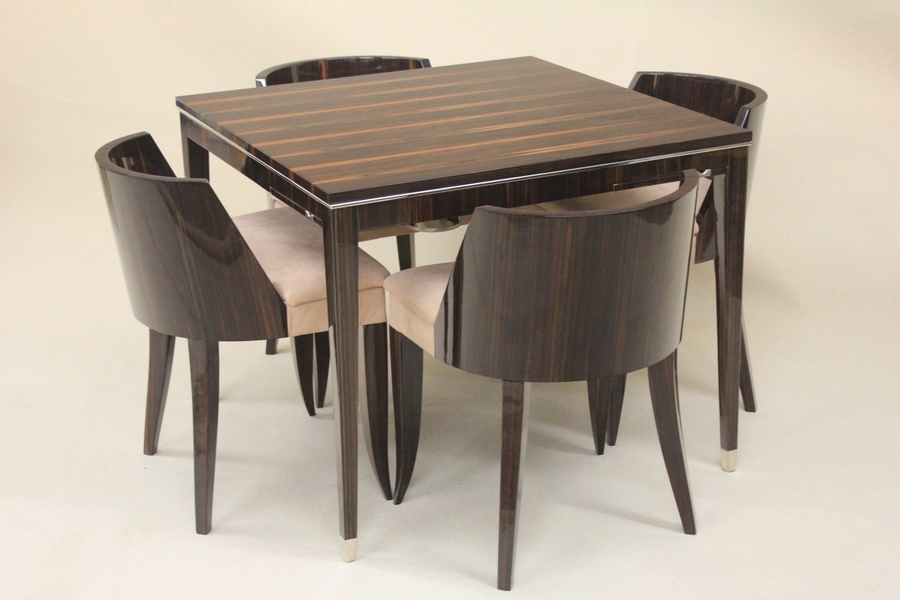 French Art Deco Games Table