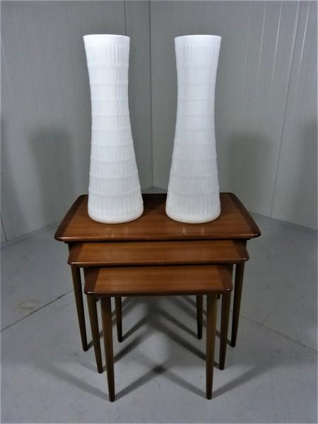 Pair Vases By Hutschenreuther Art Department