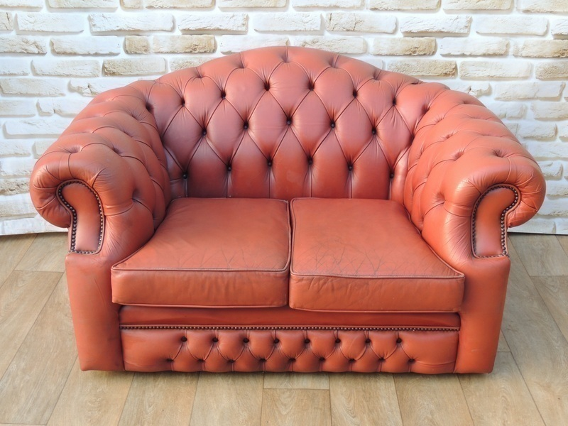 Compact 2 Seat Chesterfield