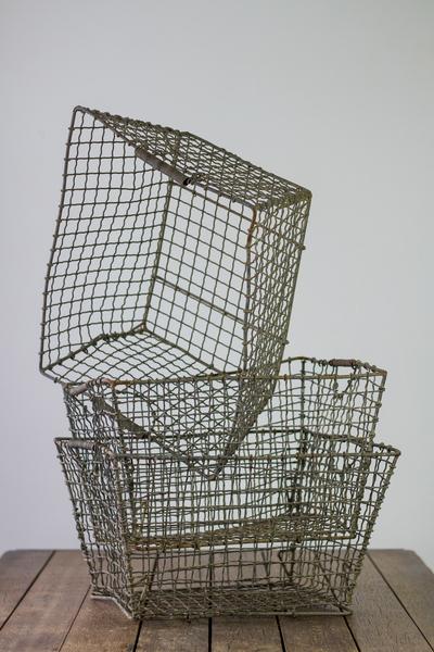 Wire Factory Storage Baskets