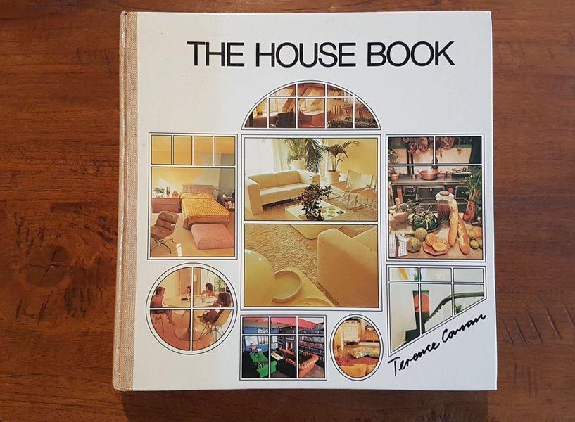 Vtg The House Book Terence Conran Vintage 70's Retro Interior Design 1983