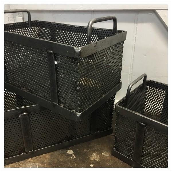 Metal Foundry Storage Crates