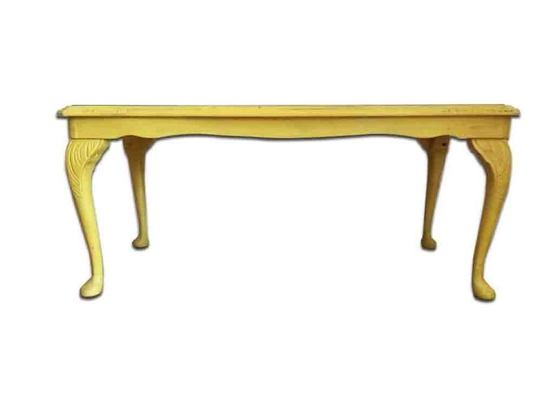 Mid Century Coffee Table In Victorian Style